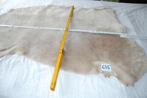Lammfell, Echt Fell, Schaffel,Velour, Haar, Echt Leder Fell, Farbe perle Nr 635