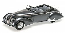 Lancia Astura tipo 233 Corto 1936 Grey Metallic Minichamps 1 18 107125334