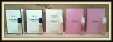 5 x CHANEL Sample Selection: No 5, No 5 Premiere, Coco Mademoiselle, Chance