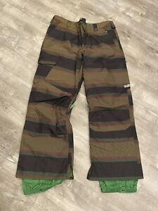 Burton Men's Dryride Snowboard Ski Snow Pants Size L