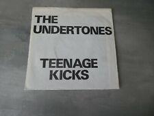 The Undertones – Teenage Kicks good vibrations white sleeve 7 inch single punk