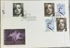Greta Garbo Sweden/USA Joint Stamp Issue - First Day Cover 2005