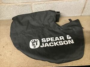 SPEAR & JACKSON GARDEN BLOWER VAC BAG FOR SPEAR & JACKSON S36BVL BAG ONLY