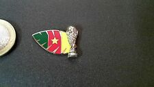 Campionati mondiali wm 3d pin COPPA CAMERUN CAMEROON BADGE TROPHY WORLD CHAMP