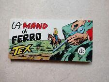 "Tex raccoltina serie bianca n.126 "" La mano di ferro "" anastatica"