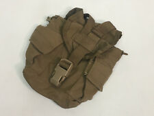 US Military COYOTE 1 QT Canteen Pouch MOLLE 1 Quart GP Pouch Missing Buttons