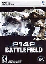 Battlefield 2142 (Apple MAC OS X, 2007) **BRAND NEW FACTORY SEALED - RARE**