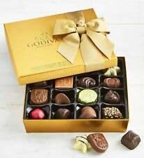 Godiva Gold Ballotin Chocolates Box-19pc-World Famous Iconic Candy Gift Present