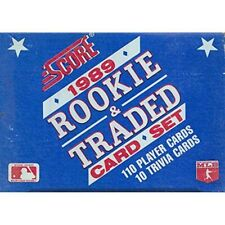 1989 Score MLB Rookie & Traded Baseball Factory Set