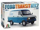 Italeri 1/24 Ford Transit Mk.2 Plastic model IT3687