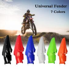 7 Colors Dirt Bike Polypropylene Motocycle Supermoto Enduro Rear Fender Mudguard