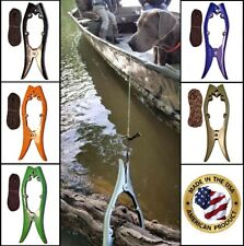Brush Gripper Kayak & boat anchor - Tie Up in Seconds W/O Scaring Fish!