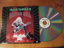 "IRON MAIDEN USA LASER DISC 12""  RAISING HELL"