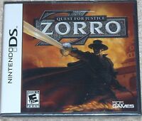 Nintendo DS - ZORRO Quest for Justice (New)