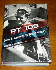 1961 1st Edition PT109 John F Kennedy World War WW II Donovan JFK Navy Boat DJ