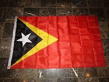 3x5 East Timor Leste Double Sided 3ply w/ Liner Flag 3'x5' banner Brass Grommets