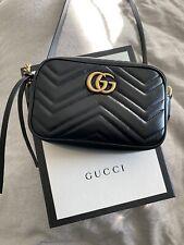 Gucci Marmont Matelasse Mini Black