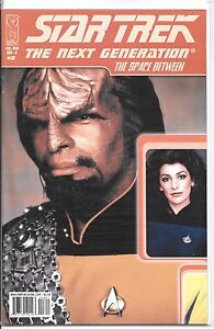 High Grade Star Trek Next Generation, The Space Between, No.3 Photo Variant NM