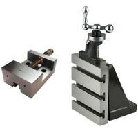 """Fixed Vertical Milling Slide 4""""x 5"""" -Table size 125 mm x 100 mm WITH 88MM VICE.."""