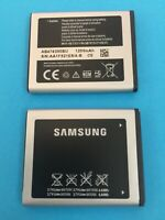NEW GENUINE BATTERY GALAXY SAMSUNG AB474350BU AB474350BE 1200mAh 4,44Wh 3,7V OEM