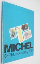 Michel Cept/Uno-Katalog 1981 United Nations Postage Stamp Catalog in German