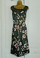 """""""SIMPLY BE"""" BEAUTIFUL LINED BLACK FLORAL DRESS SIZE 18 - BRAND NEW!!!"""
