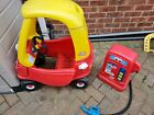 Little Tikes Car And Petrol Pump Used Read Description cosy coupe cozy tykes