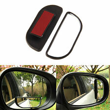 2pcs Adjustable Side Rear View Auxiliary Blind Spot Mirror For Car Safe Driving