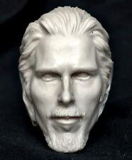 1/6 scale resin unpainted figure head sculpt christian bale The Flowers Of War