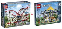 LEGO® Creator Expert 10261 Roller Coaster + 10257 Carousel  FACTORY SEALED / NEW