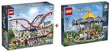 LEGO® Creator Expert 10261 Roller Coaster + 10257 Carousel  FACTORY SEALED / NEW