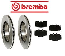 For Toyota Land Cruiser 8/80-1/90 Brake Kit Front Brake Rotors w/ Pads Brembo
