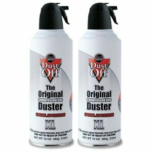 Falcon Dust Off Dpnxl2 Premium Air Duster - Ozone-safe, Non-flammable,