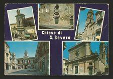 AD8512 Foggia - Provincia - San Severo - Vedute delle Chiese