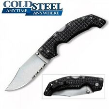 Cold Steel - LARGE VOYAGER Folding Knife Clip Point Serrated Edge 29TLCH New