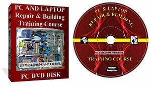 Laptop Repair Course, Computer Manuals, Training Video It Course 4x Discs