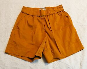 Everlane Women's The Easy Chino Long Short CD4 Amber Size 4 NWT