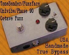 Handmade USA Germanium Mark II 2 ToneBender & FuzzFace fuzz BOTH in one pedal!