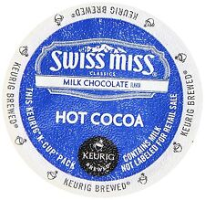 Swiss Miss K-Cup Portion Hot Cocoa for Keurig Brewers - Milk Chocolate, 24 Ct