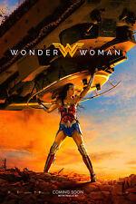 Wonder Woman Advance Movie Poster - Style E (Tank) (24x36)