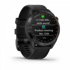 Garmin Approach S40 Black Stainless Steel Golf Watch + Black Band 010-02140-01