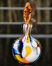 Schweres Schnupftabakglas - Bixl - Schnupftabakflasche !!! Mundgeblasen !! Nr.61