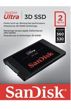 NEW 2TB Sandisk Ultra 3D Solid State SSD for Laptop / Desktop upto 560 MB/s