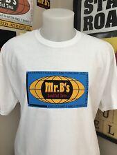 Mr Bs Logo Superfly Design T Shirt-soul-funk-mod-vespa-lambretta-jazz-60's