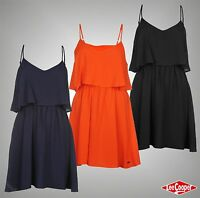 New Ladies Designer Lee Cooper Summer Casual Look Layered Dress Top Size 8-18