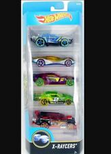 HOT WHEELS X-RAYCERS HOT RACERS CLEAR CAR 5 CAR PACK DIE CAST CARS 69 CHEVELLE
