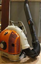 Stihl BR500 Leaf blower mowed grass debris professional back pack petrol blower