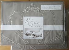 KYLIE AT HOME Housewife Pillowcase PAIR New VALENCIA TRUFFLE
