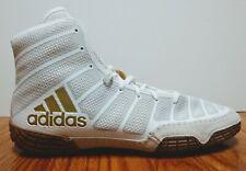 Adidas Adizero Varner Men's Wrestling Shoes White Gold Size 11 DA9891