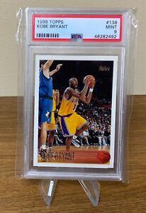 1996 Topps Basketball Kobe Bryant ROOKIE RC #138 PSA 9 MINT